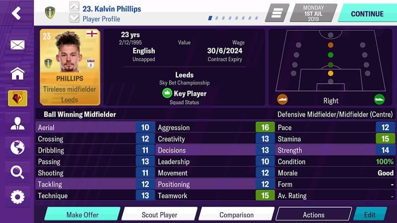 Football manager 2019 apk