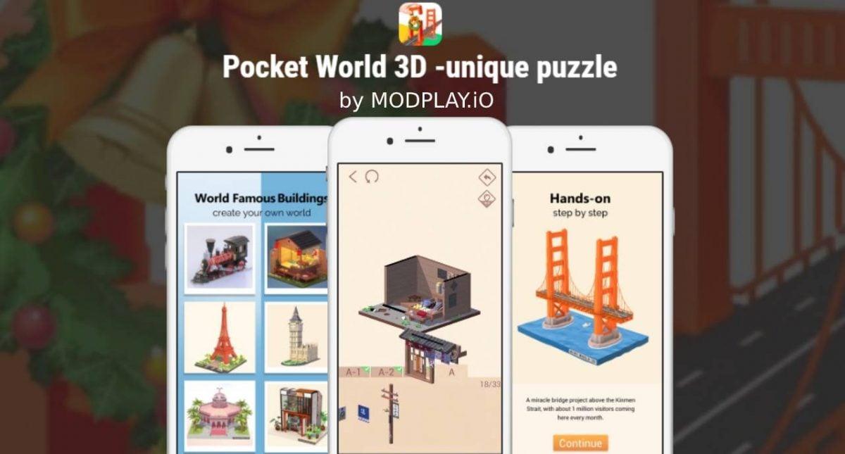 Pocket World 3D MOD APK 1.7.5 (Free Shopping) Download